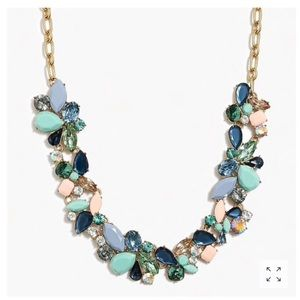 NWT J. Crew Mixed Stone Spring Statement Necklace